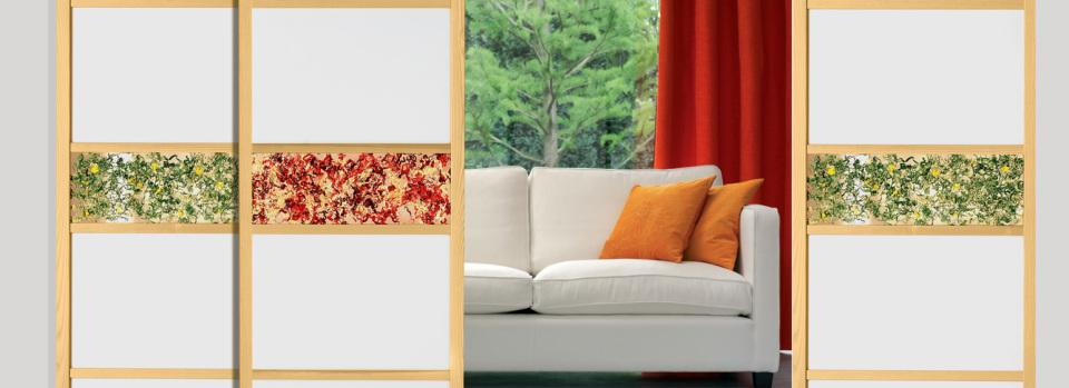 fermer un placard avec des panneaux japonais dco prte craquer pour les panneaux japonais. Black Bedroom Furniture Sets. Home Design Ideas
