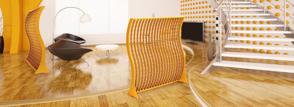 Claustra Luminor, une variété de panneaux bois et cloisonnements pour le bureau et l'aménagement intérieur de la maison